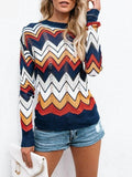 Knitted Chevron Top