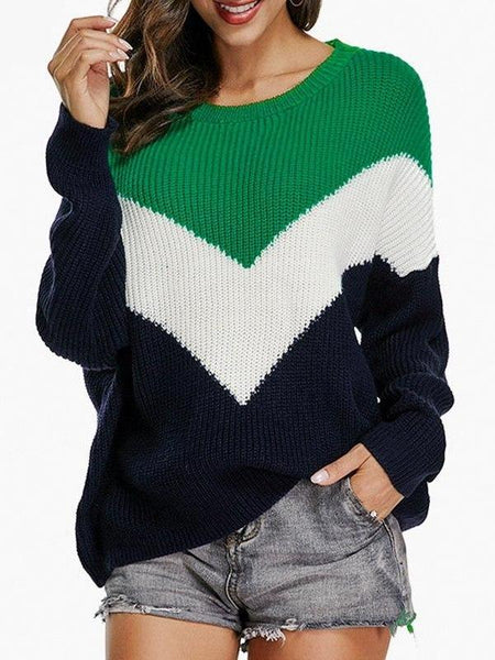 Chevron Kint Sweater