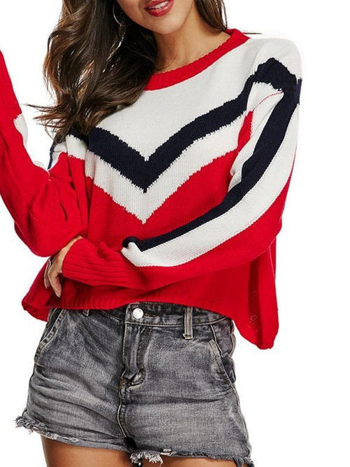 Red Racer Kintted Sweater