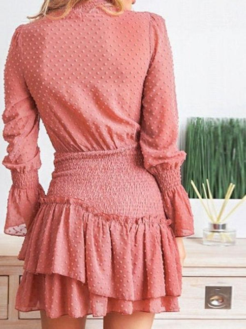 Swiss Smocked Waist Dress