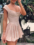 Crinoline Mini Dress