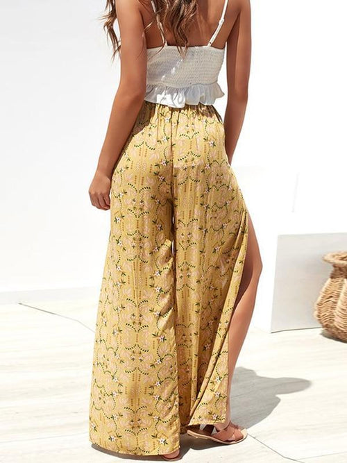 Dijon Split Long Pants