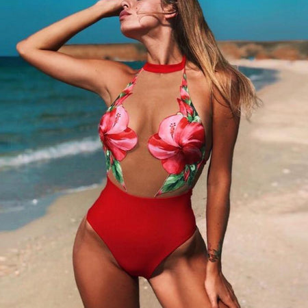 Retro Knotty Monokini