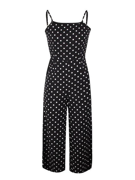 Retro Polka Dot Jumpsuit