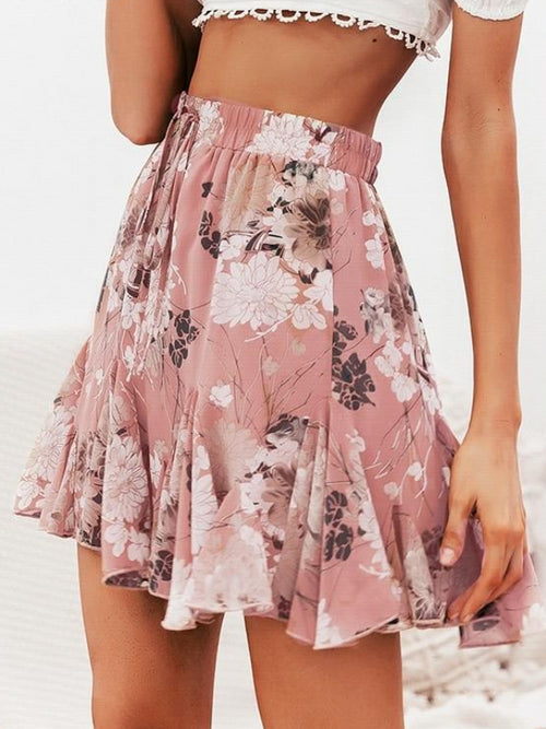 Sweet Rufflower Skirt