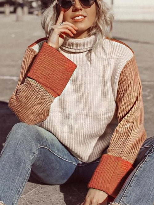 Color Blocks Sweater