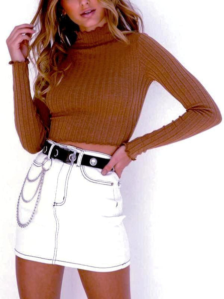 Copper Crop Sweater