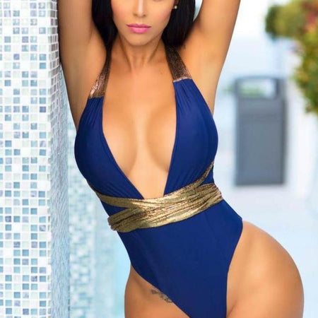 Low Cut Cami Monokini