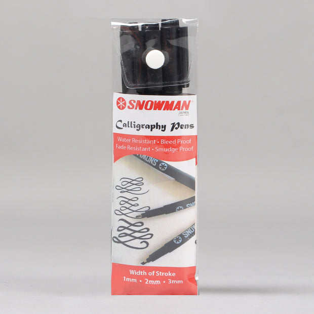 Snowman 700 Drawing Pen for Calligraphy (Set of 3)