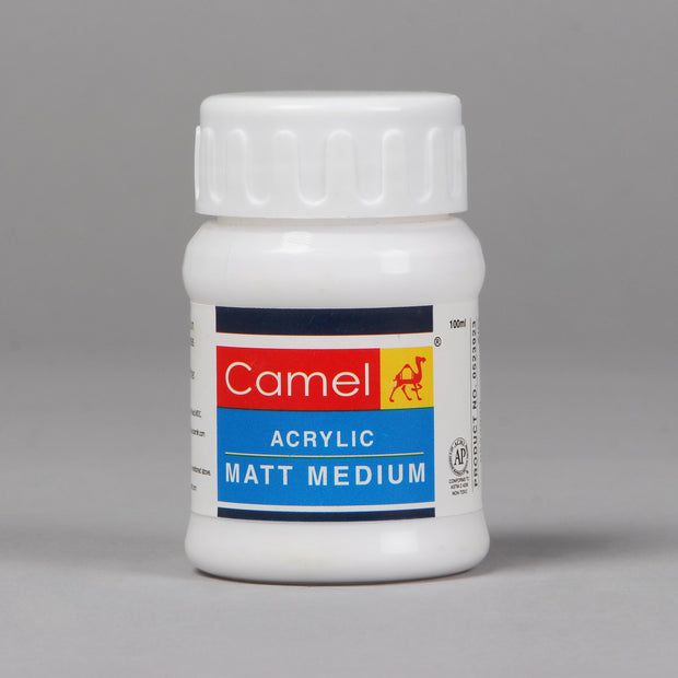 Camel Acrylic Matt Medium 100 ml 0523923 - Anupam