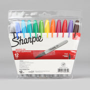 Sharpie 12 Assorted Fine Point Permanent Markers 30072