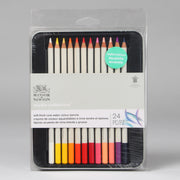Winsor & Newton Studio Collection Soft Thick-Core Colour Pencils 24 pc 0490015