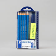 Staedtler Mars Lumograph Jumbo Art Pencils ++ Set