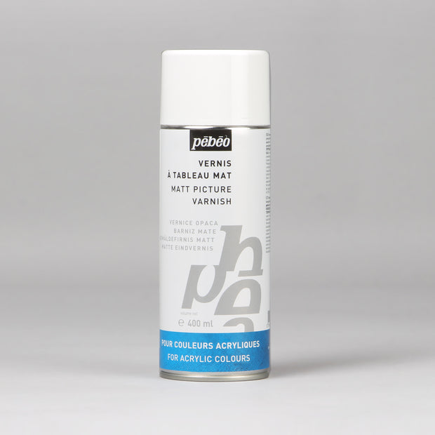 Pebeo Matt Picture Varnish For Acrylic Colours 400 ml