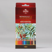 Koh-I-Noor Hardtmuth Mondeluz 12 Artists' Aqaurell Coloured Pencils 3716012001KS