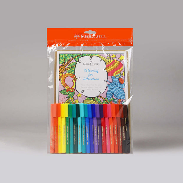 Faber-Castell Colouring Kit For Relaxation 557155 - Anupam