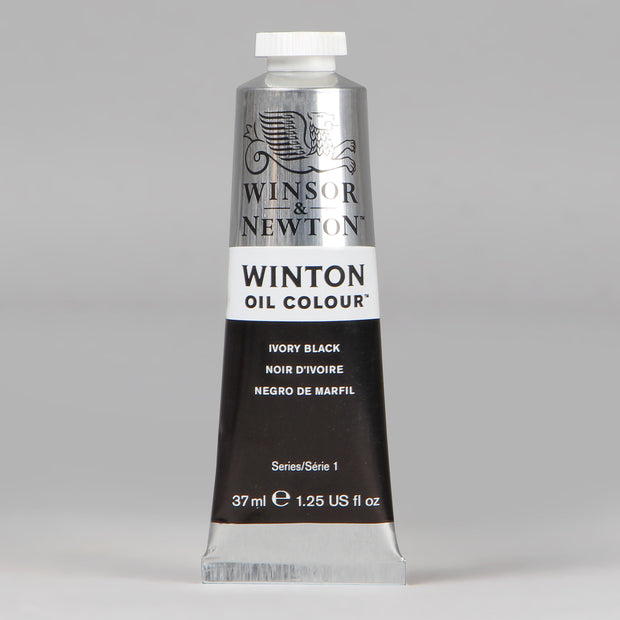 Winsor & Newton Winton Oil Colour Ivory Black Series 1 37 ml 1414331