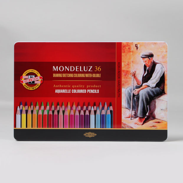 Koh-I-Noor Hardtmuth Mondeluz 36 Aquarelle Coloured Pencils 3725