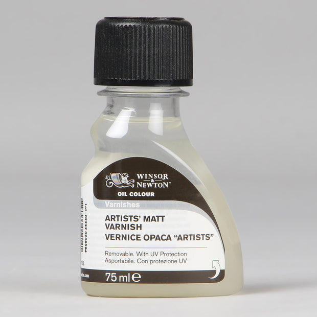 Winsor & Newton Oil Colour Artist's Matt Varnish 75 ml 3021 733