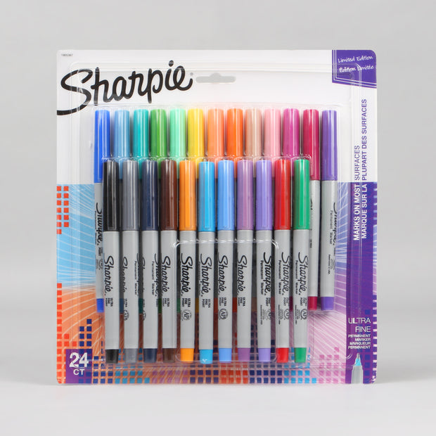 Sharpie 24 Assorted Ultra Fine Point Permanent Markers 1905367