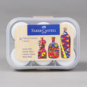 Faber-Castell 6 Fabric Colours Classic 10 ml 1410501 - Anupam