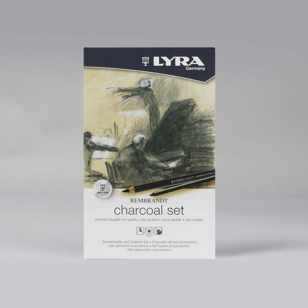 Lyra Rembrandt 12 pcs Charcoals Set and Accessories 5 mm L2051112 - Anupam