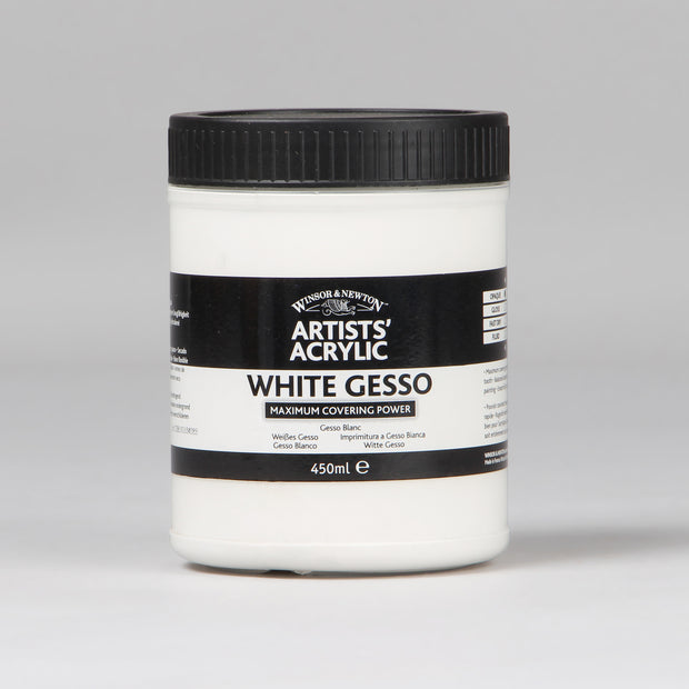 Winsor & Newton Artists' Acrylic White Gesso 450 ml 3050920