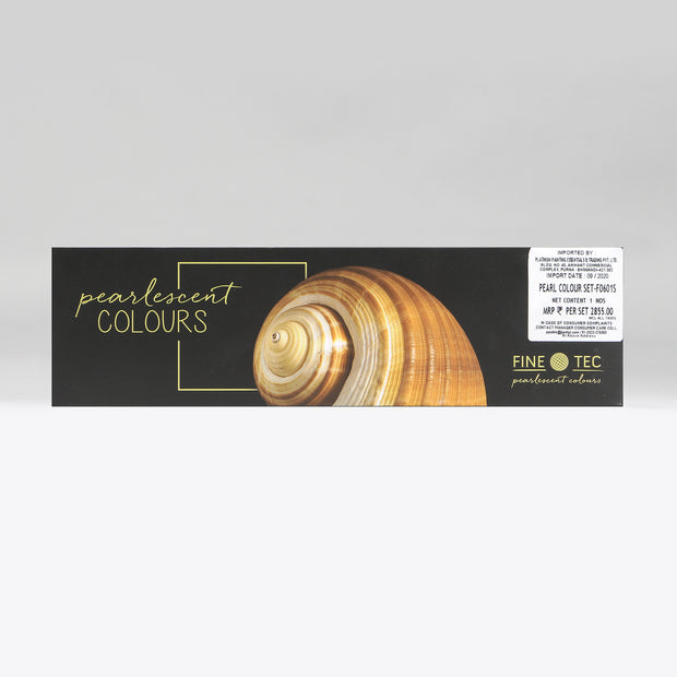 Finetec 6 Water-Soluble Pearlescent Colours (30 mm) Set F0601S