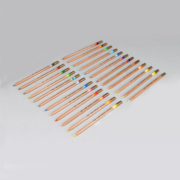 Koh-I-Noor Hardtmuth 23+1 Tri-Tone Multicoloured Pencils Set 3444N24003PL