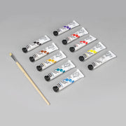 Pebeo Studio Gouache Super Maquette 10 Tubes x 20 ml + 1 Brush 230199