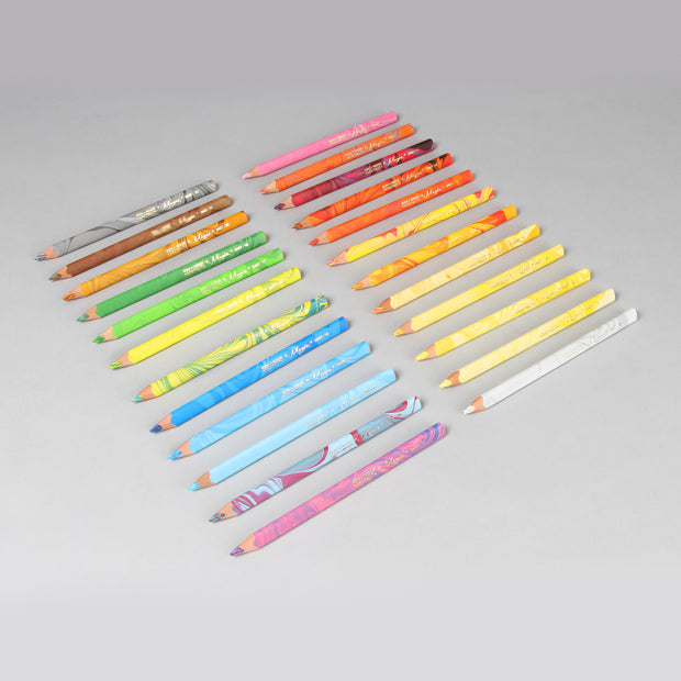 Koh-I-Noor Hardtmuth 23+1 Magic Multicoloured Pencils Set (3 in 1) 3408024001PL