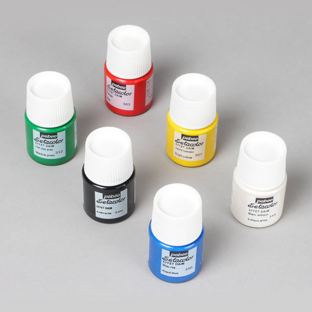 Pebeo Setacolor Discovery Set Painting on Fabrics 6 Bottles x 20 ml 753417