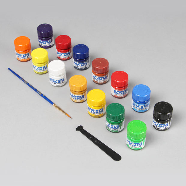 Doms Poster Colours For Students (14 Shades) 10 ml 7118