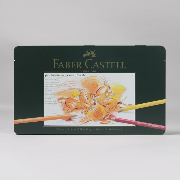 Faber-Castell 60 Polychromos Colour Pencils 11 00 60 - Anupam