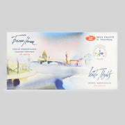 Neva Palette White Nights 24 Artists' Watercolours in Pans 1942090