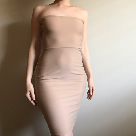 Stone Bodycon Dress