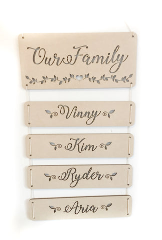 Family Wall Plaques