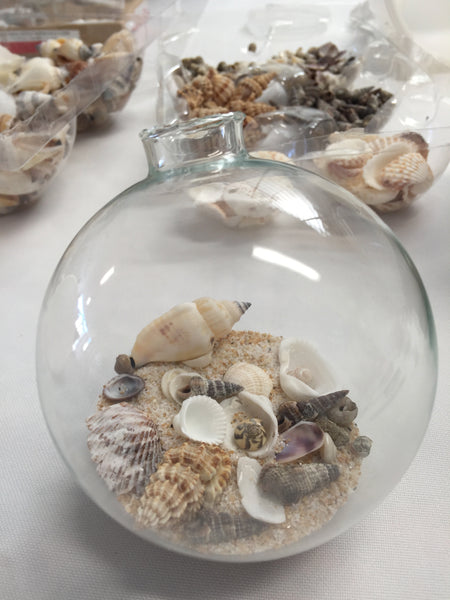 By The Sea - Seashell Globes