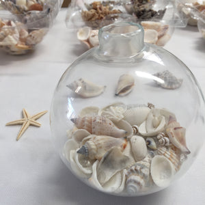 """By the Sea"" Seashell Globes"