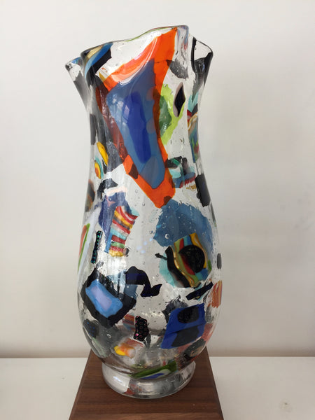 Blown Glass Fine Art Vase - Brilliance