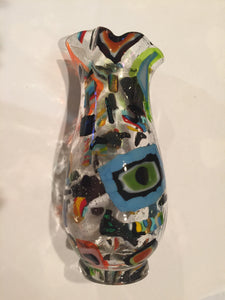 Brillance -- Fused and Blown Glass Vase