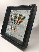 Load image into Gallery viewer, Fan Dance Framed Glass Wall Art