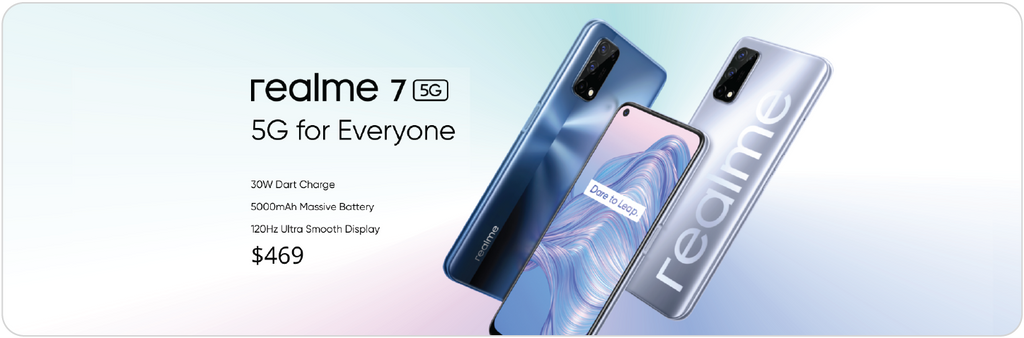 Realme 7 (5G): A $469 Mid-Tier Smartphone with Solid Specs