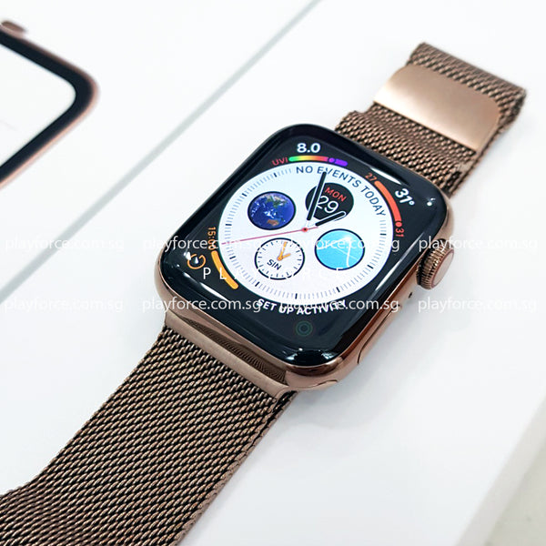 Apple Watch (Series 4, 40mm, Stainless Steel, Cellular)
