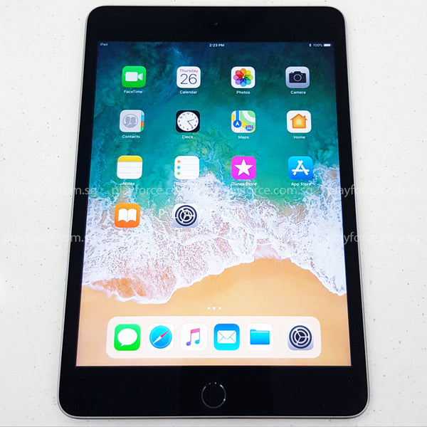iPad Mini 4 (64GB, Cellular, Space Grey)