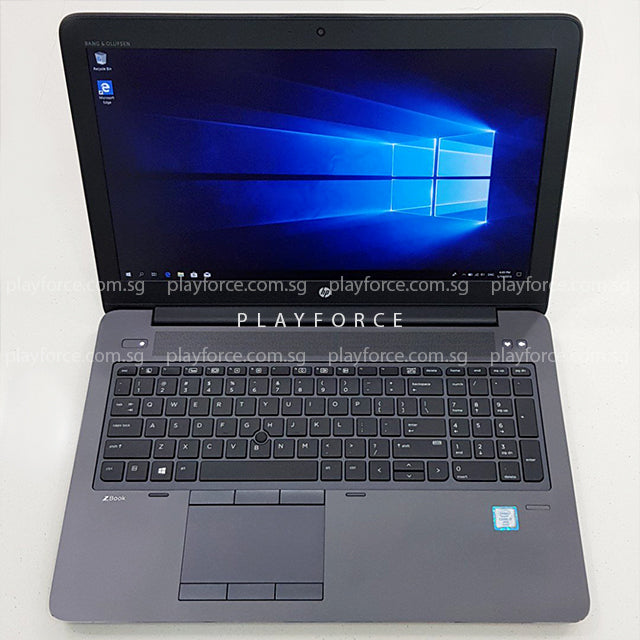 ZBook G3 (i7-6820HQ, Quadro M2000M, 256GB SSD, 15-inch)