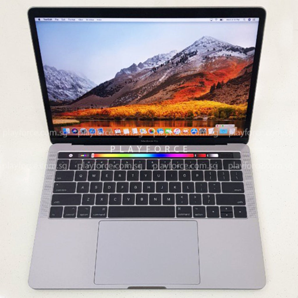 Macbook Pro 2016 (13-inch Touch Bar Touch ID, 16GB 256GB, Space)(Upgraded)