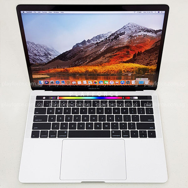 MacBook Pro 2017 (13-inch Touch Bar Touch ID, 512GB, Silver)(Apple Care)