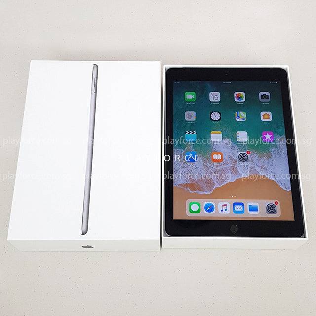 iPad 6th Gen (128GB, Cellular, Space Grey)