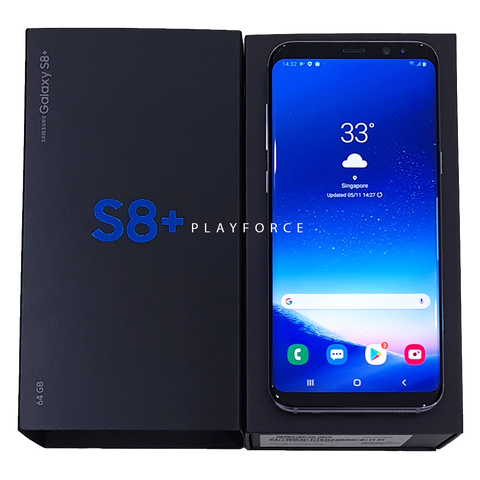 S8 Plus 64GB Orchid Gray